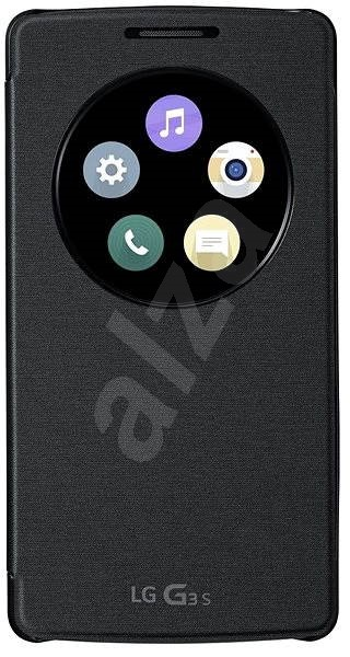 LG Quick Window Circle Cover Black CCF-490g - Puzdro na mobil
