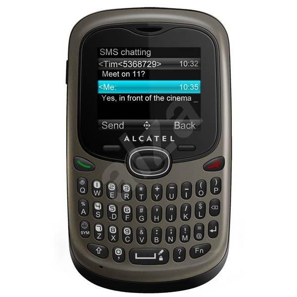 Alcatel OT-255D Titanium Grey - Mobilní telefon