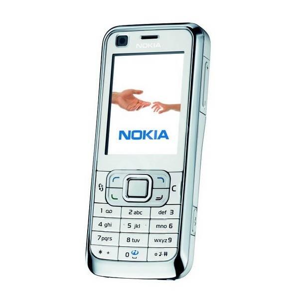 Mobilní telefon GSM Nokia 6120 bílý - Mobilný telefón