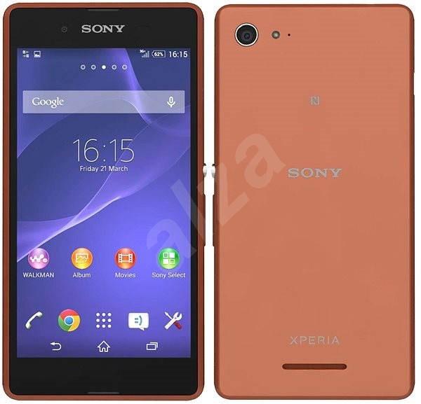 Sony Xperia E3 (D2203) Copper - Mobilný telefón