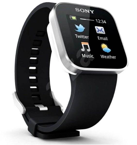 798cbc6c33f Sony SmartWatch MN2 Black - Chytré hodinky