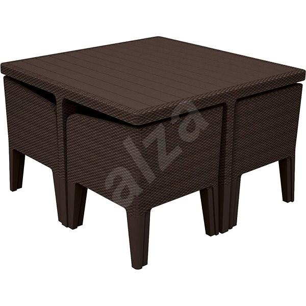 a4217e2bfc06b ALLIBERT COLUMBIA 5 hnedá - Záhradný nábytok | Alza.sk