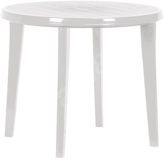 99ebe2ace598 ALLIBERT Stôl LISA biela - Záhradný stôl