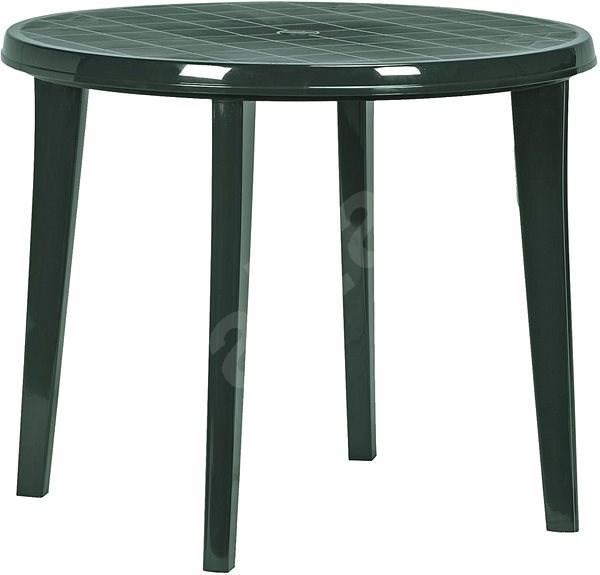 fb5ca6a8a086 ALLIBERT Stôl LISA tmavo zelený - Záhradný stôl