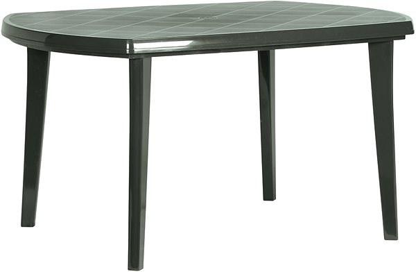 7cc10c470ab5 ALLIBERT Stôl ELISE tmavo zelená - Záhradný stôl