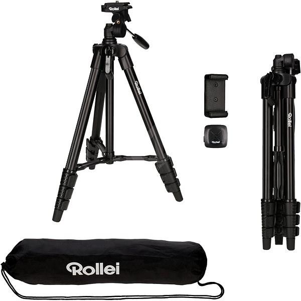 2f87e39f7 Rollei cestovný statív pre mobilné telefóny a fotoparáty - Statív