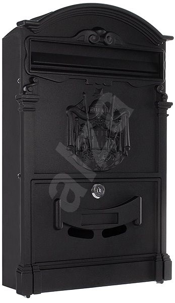 Rottner ASHFORD čierna - Poštová schránka