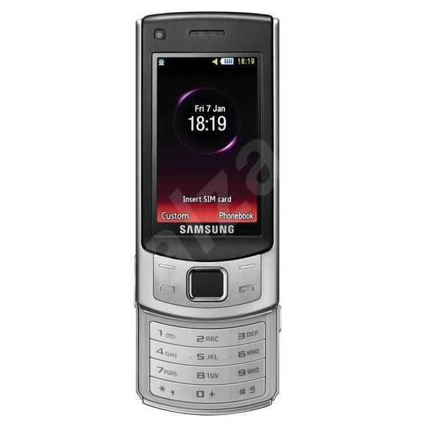 Samsung GT-S7350 stříbrný - Mobilní telefon