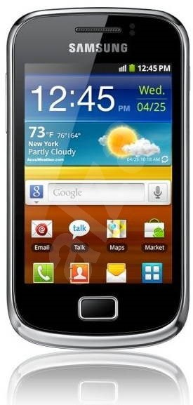 Samsung Galaxy Mini II (S6500) Black - Mobilní telefon