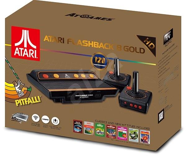 Retro konzola HD Atari Flashback 8 gold 2017 - Herná konzola