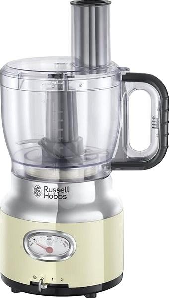 Russell Hobbs 25182-56 Retro Food Processor Cream - Food processor
