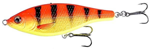 Savage Gear 3D Roach Jerkster 63 6,3 cm 8 g SS 08 – Black and Red - Nástraha