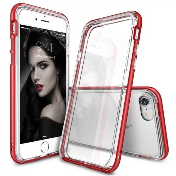 Ringke Frame Blaze Red iPhone 7 - Ochranný kryt  9c5806f706e