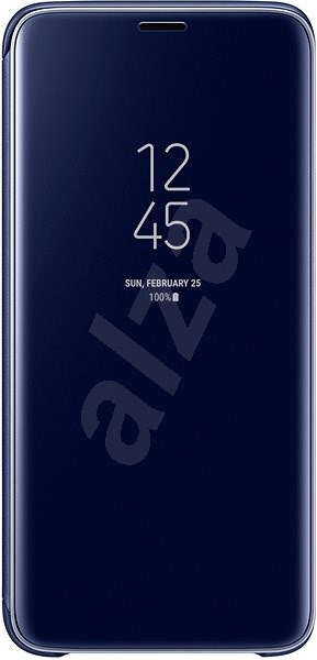Samsung Galaxy S9 Clear View Standing Cover modré - Puzdro na mobil