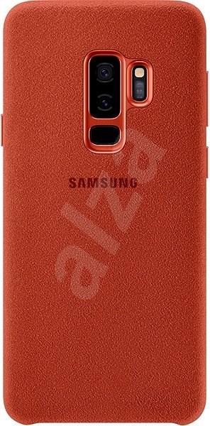 Samsung Galaxy S9+ Alcantara Cover červený - Kryt na mobil