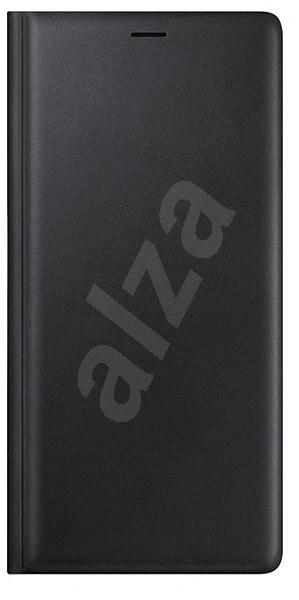Samsung Galaxy Note9 Leather Wallet Cover Čierna - Puzdro na mobil