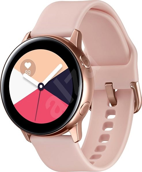 Samsung Galaxy Watch Active Rose Gold - Smart hodinky