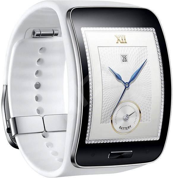 03b44768a6 Samsung Gear S biele - Smart hodinky
