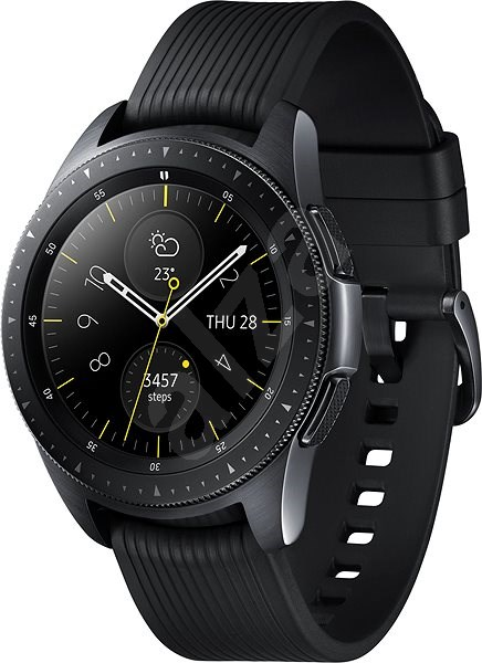 Samsung Galaxy Watch 42 mm Black - Smart hodinky  7d85310717c