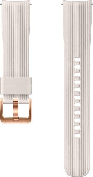 Samsung Galaxy Watch Silicone Band (20 mm) Strieborný - Remienok