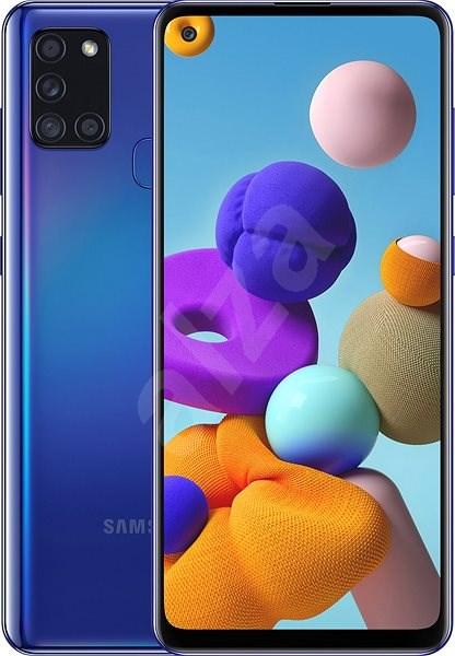 Samsung Galaxy A21s 64 GB modrá - Mobilný telefón