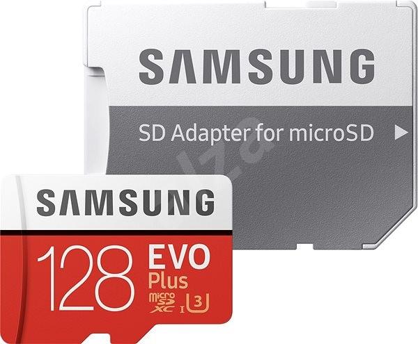 Samsung microSDXC 128 GB EVO Plus Class 10 UHS-I + SD adaptér - Pamäťová karta