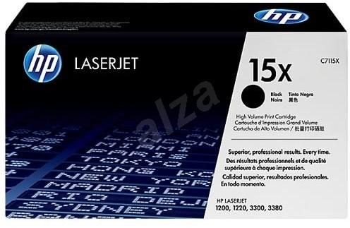HP C7115X č. 15X čierny - Toner