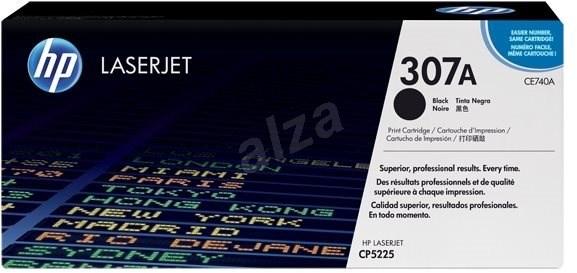 HP CE740A čierny - Toner