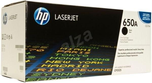HP CE270A č. 650A - Toner
