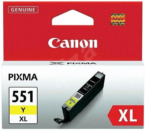 Canon CLI-551Y XL žltá - Cartridge