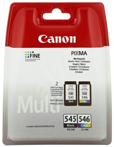 Canon PG-545 + CL-546 Multipack - Cartridge