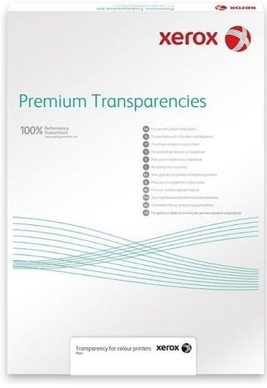 XEROX Plain Transparency for Mono, A4, 100µ, 100 listov - Fólia