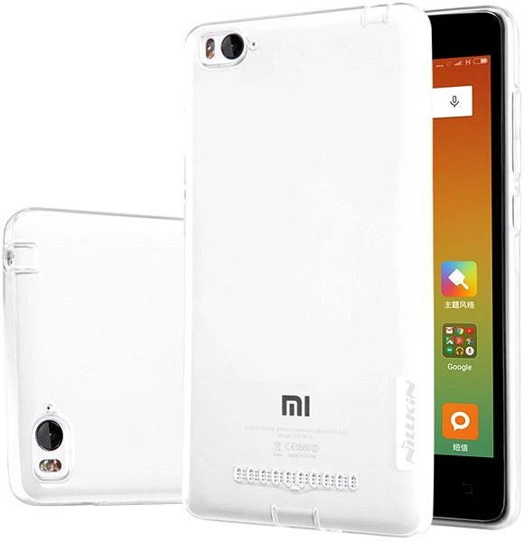 NILLKIN Nature na Xiaomi Mi4i transparentné - Puzdro na mobil  bfd1ad6a090