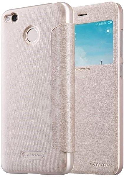 0bbbcc3a3 Nillkin Sparkle S-View Gold pro Xiaomi Redmi 4X - Puzdro na mobil ...