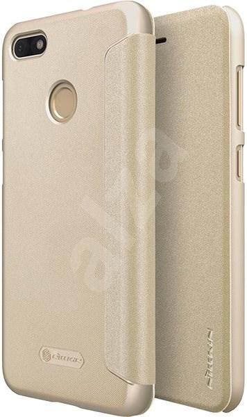 5857641ee Nillkin Sparkle Folio pre Huawei P9 Lite Mini Gold - Puzdro na mobil ...