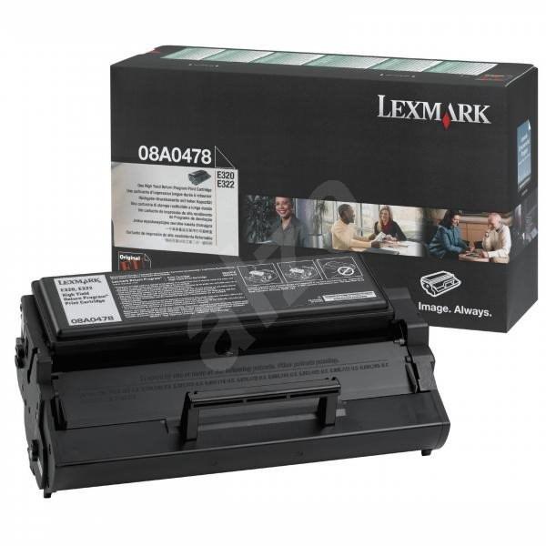 LEXMARK 08A0478 čierny - Toner