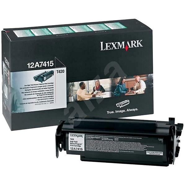 LEXMARK 12A7415 čierny - Toner