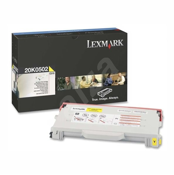 LEXMARK 20K0502 žltý - Toner