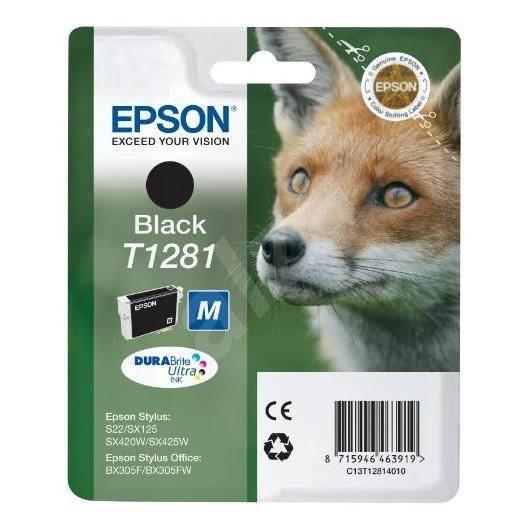 Epson T12814010 černá - Cartridge