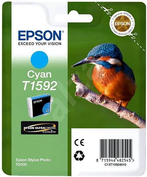 Epson T1592 azúrová - Cartridge
