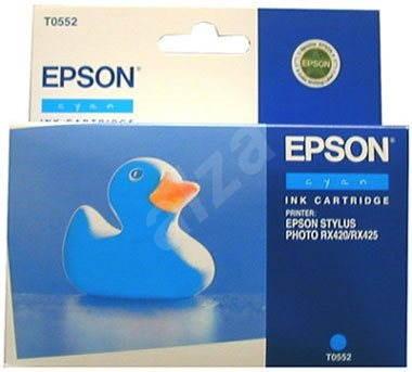 Epson T0552 azurová - Cartridge