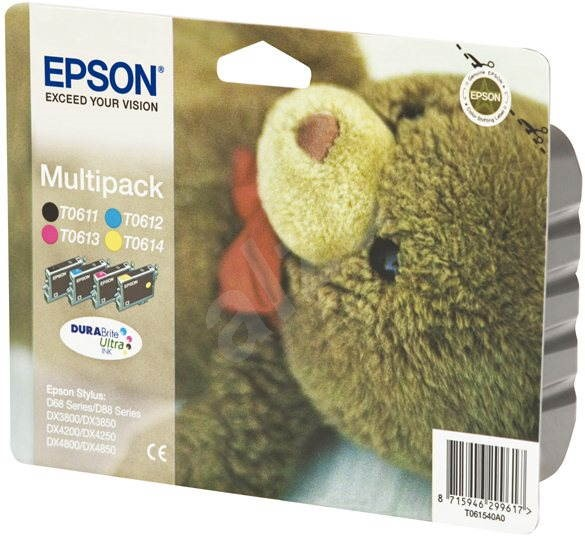Epson T0615 multipack - Sada cartridge