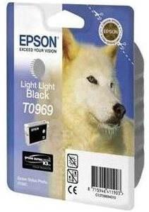 Epson T0969 extra svetlá čierna - Cartridge