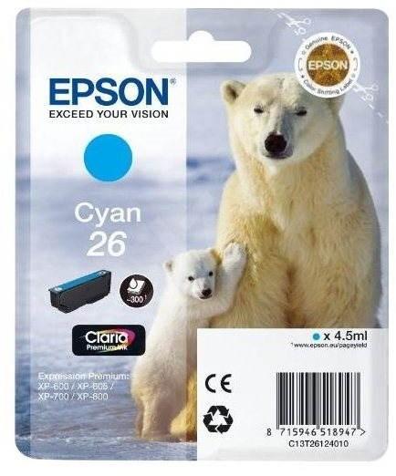 Epson T2612 azúrová - Cartridge