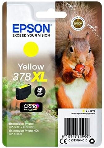 Epson T3794 č.378XL žltá - Cartridge