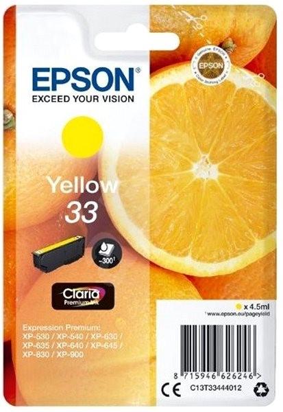 Epson T3344 single pack - Cartridge