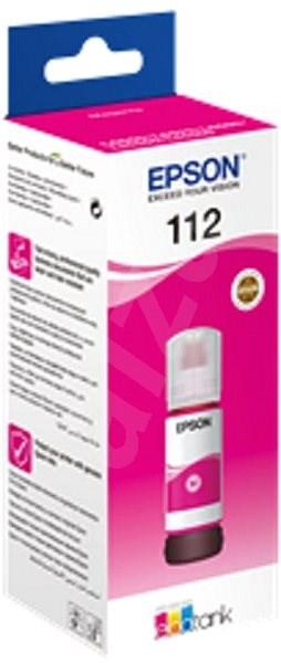 Epson 112 EcoTank Pigment Magenta ink bottle purpurová - Cartridge