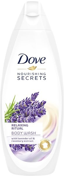DOVE Nourishing Secrets Relaxing Ritual Levander oil & Rosemary 500 ml - Sprchový gél