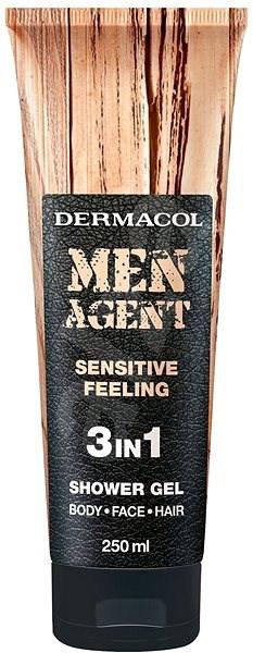 DERMACOL Men Agent Sensitive Feeling 250 ml - Pánsky sprchovací gél