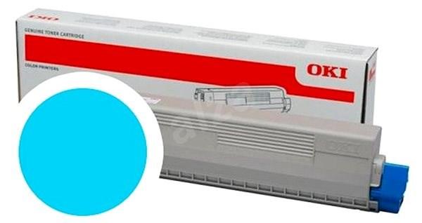 OKI 47095703 azúrový - Toner